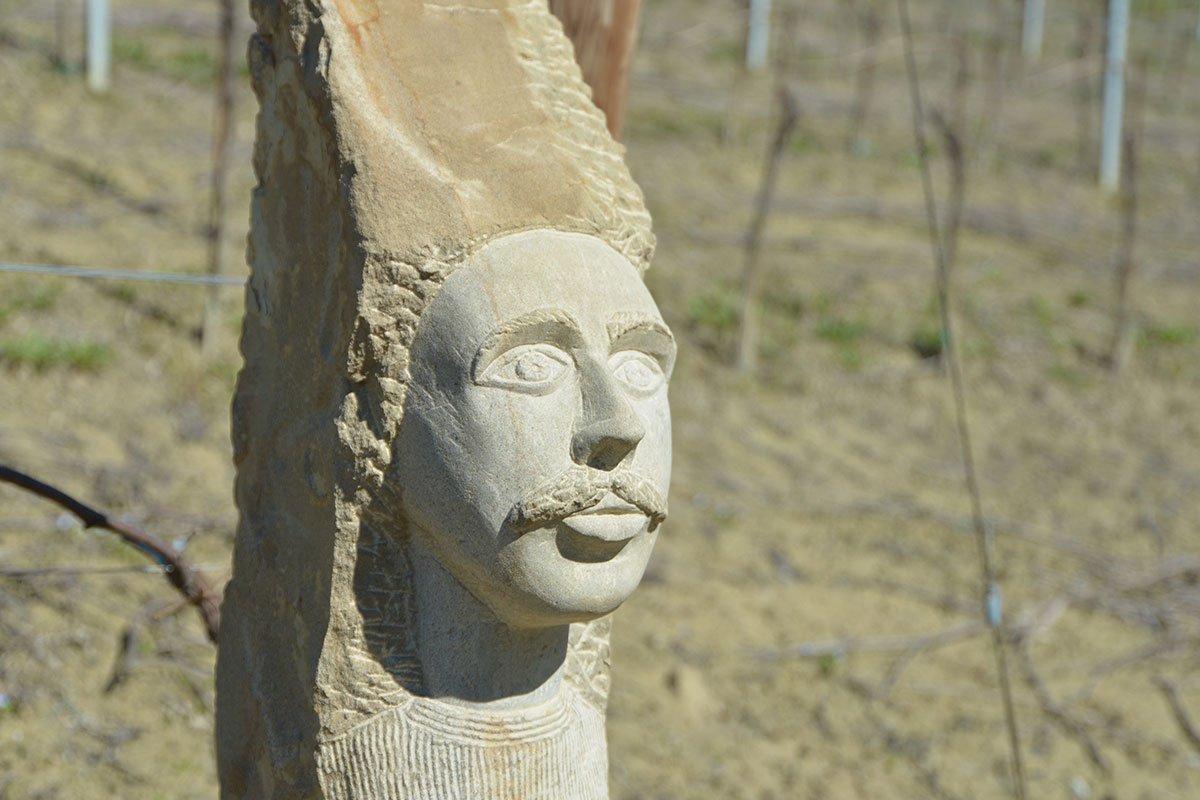 Anthropomorphic stones, peasant wisdom